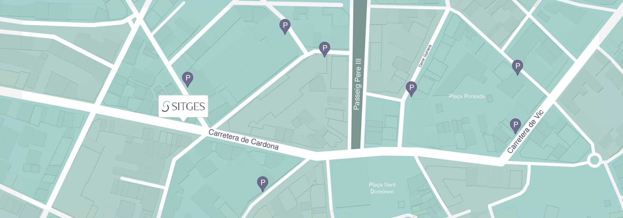 mapa-clinica-dental-doctor-sitges-manresa